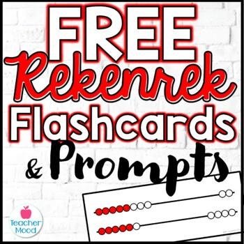 FREEBIE!!! Rekenrek Flash Cards - Common Core Math
