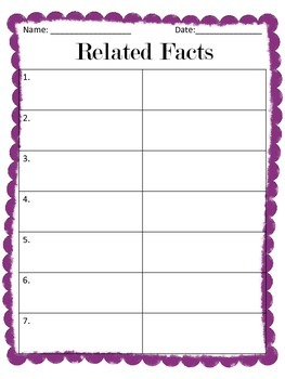 Related Facts Cut & Paste
