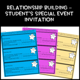 FREEBIE Relationship Building - Student Special Event Invitation