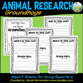Animal Research Report - Groundhogs