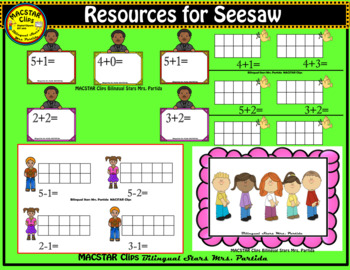FREEBIE Resources for Seesaw Personal Classroom Use 4 images