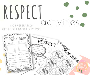 FREEBIE: Respect Activities #ausbts19