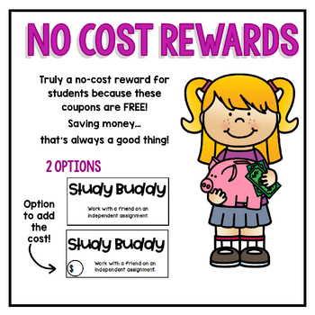 FREEBIE Reward Coupons