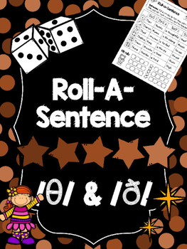 FREEBIE: Roll-A-Sentence /th/ -Articulation Printables for