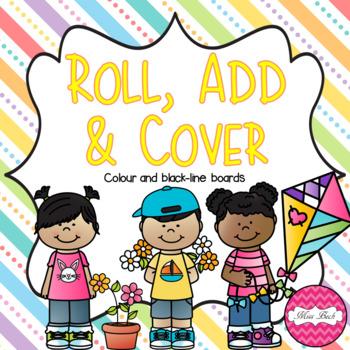 FREEBIE! Roll, Add & Cover- Spring Theme