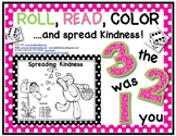 "FREEBIE!! Roll, Read and Color: ""Spreading Kindness"" Sight Word Game"