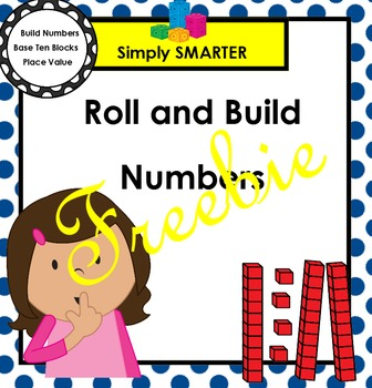 FREEBIE:  SMARTBOARD Roll and Build Numbers