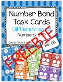FREEBIE - Roll and Fill Number Bonds 5-10 - Differentiated - 3 Levels