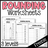 FREEBIE: Rounding Worksheet