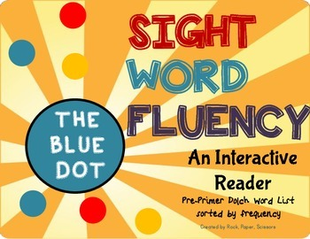 *****FREEBIE!*** Sight Words Interactive Story
