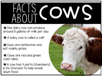 {FREEBIE} Around the Farm - An Integrative Unit about Farm Animals
