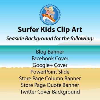 FREEBIE - SEASIDE BACKGROUND