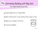 FREEBIE SEL: Community building with Play-doh: Lesson & Practice