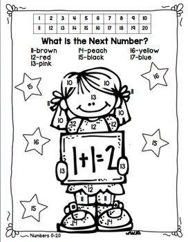 Freebie--Next Number Practice!