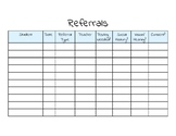 FREEBIE SLP Charts and CAAP-2 norms