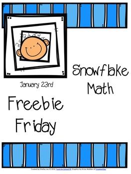 FREEBIE: SNOWFLAKE MATH
