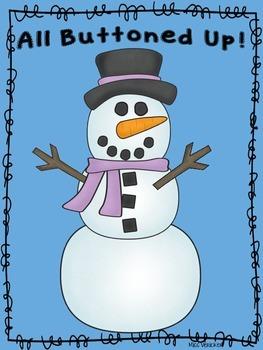 FREEBIE SNOWMAN BUTTON MATH