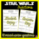 FREEBIE!! STAR WARS Fractions Review (Princess Leia)