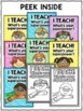 Class Decor - Superhero Theme Posters