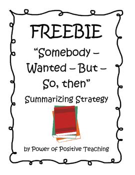 FREEBIE - SWBS Summarizing Strategy