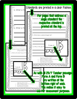 FREEBIE: 2nd Grade R.I. Passage {Common Core Aligned Assessment & Close Reading}