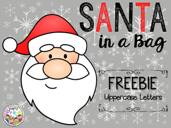 FREEBIE Santa in a Bag Card Game