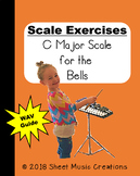 FREEBIE Scale Exercises- C Major Scale for the Bells