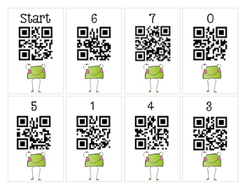FREEBIE- Scan It, Solve It, Write It! QR code Scavenger Hunt