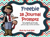Freebie! Smile Break Journal Prompts