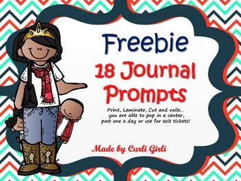 Freebie! Smile Break Journal Prompts
