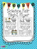 FREEBIE Science Night Flyer