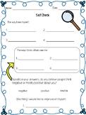 FREEBIE - Self Check Worksheet