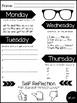 FREEBIE Self-Reflection Sight Word Journal