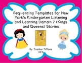 FREEBIE Sequencing Templates for K Listening & Learning Domain 7--Kings & Queens