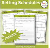 Teaching Schedule Setting Templates