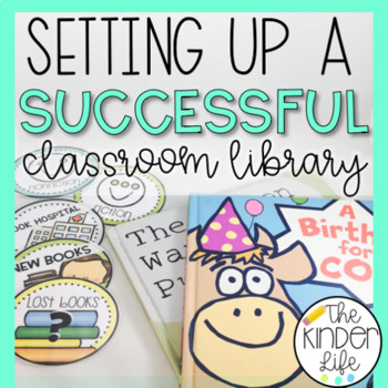 FREEBIE Setting Up a Successful Elementary Classroom Library Bin Labels