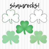 FREEBIE! Shamrocks!