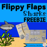 FREEBIE Shark Activities Interactive Notebook Lapbook