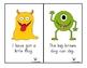FREEBIE: Short Vowel Monster Sentences