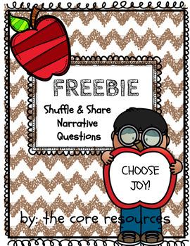 FREEBIE - Shuffle & Share Cards