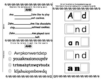 FREEBIE ~ Sight Word AND Fluency Activity Book ~ Reading made FUN