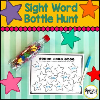FREEBIE Sight Word Bottle