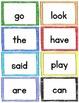 FREEBIE Sight Word Flashcards - Color & BW