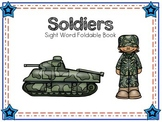 FREEBIE Sight Word Foldable: Soldier
