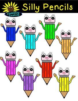 FREEBIE Silly Pencils