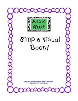 FREEBIE Simple Visual Board