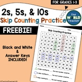 FREEBIE! Skip Counting by 2s, 5s, & 10s on a Hundreds Chart
