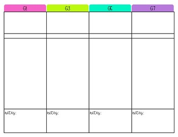FREEBIE: Small Group Planning Template