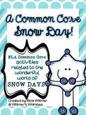 {FREEBIE} Snow Day Activities aligned to Common Core