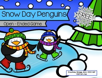 Snow Day Penguins - Reinforcement Game
